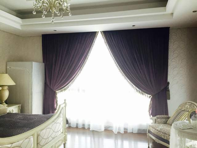 curtain in dubai